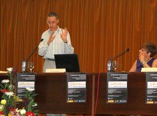 Ronald Barnett en nuestro seminario